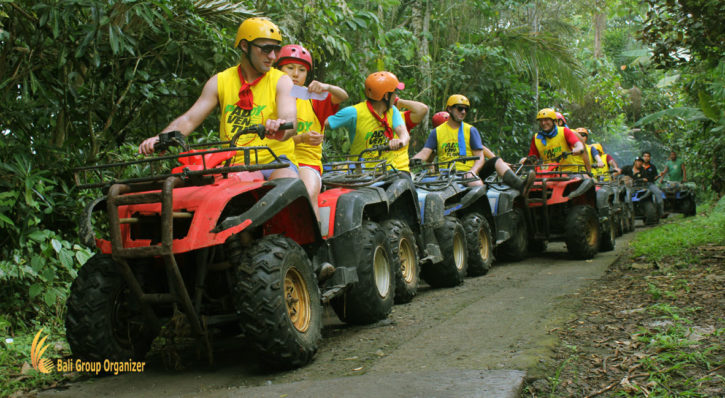 Bali ATV Ride Treasure Hunt Games