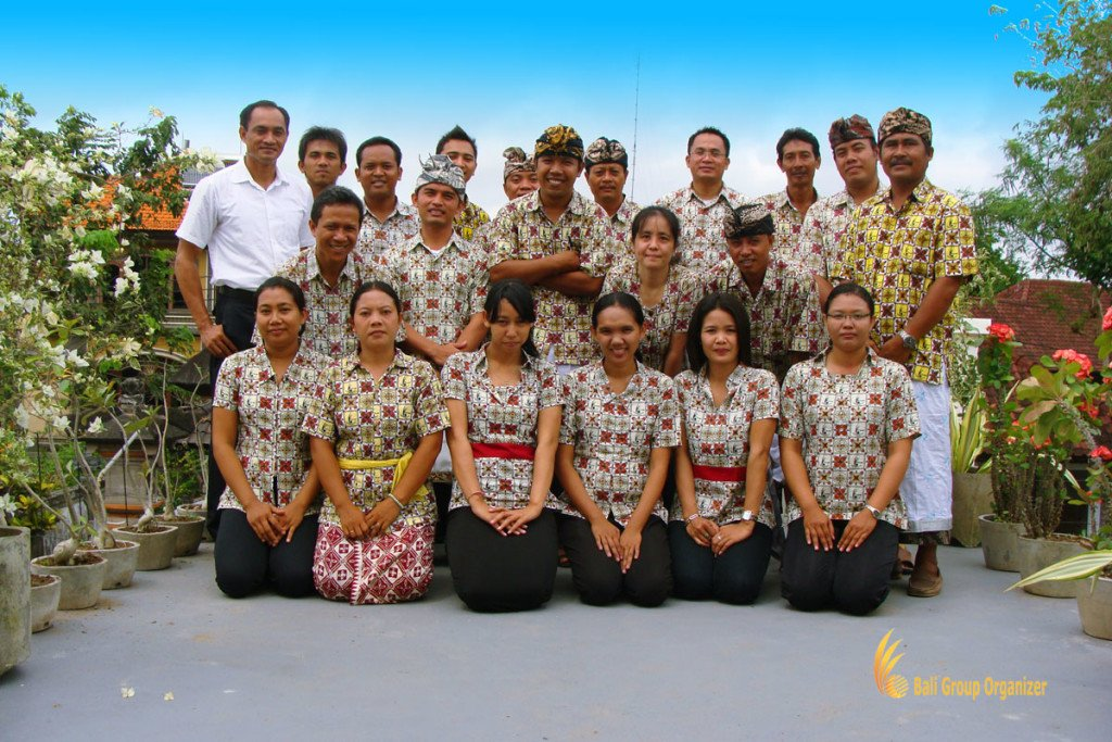 bali, group, organizer, staff