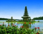 ulun danu, temple, bedugul bali treasure hunt