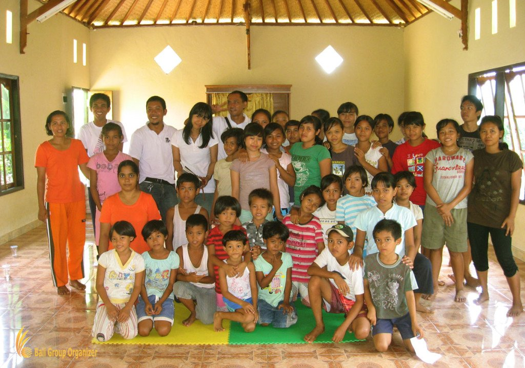 bali, orphanage, visit, charity