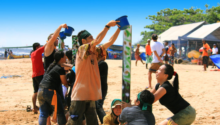 Bali Outdoor Camp - Team Building Activities