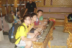 ACSI, Balinese Gamelan Lesson, Gamelan Lesson, Education Trip