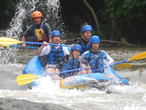 ACSI International School, Singapore, Bali White Water Rafting, Adventures