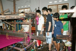 ACSI International School, Singapore, Bali Weaving Making