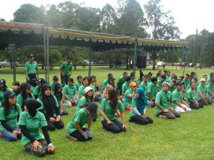 Astra Zeneca, Garden Team Building, Team Building, Ice Breaking Games, Face to Fare Theme, Bali Tree Top Adventures Game, Fun Games, Education Games, Group Event, Safety Instruction, Bedugul, Bali