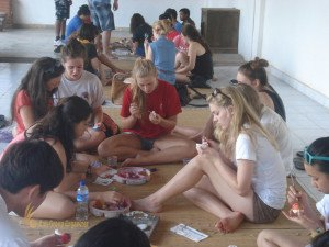Alice Smith School, Balinese, Egg Painting Lesson