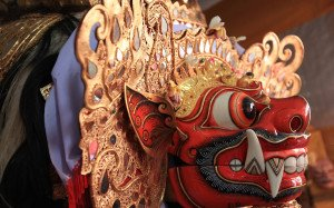 Face of Barong Ket