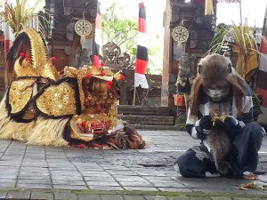 Barong Ket with Monkey