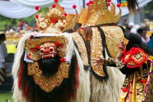 Barong ket with Dancer
