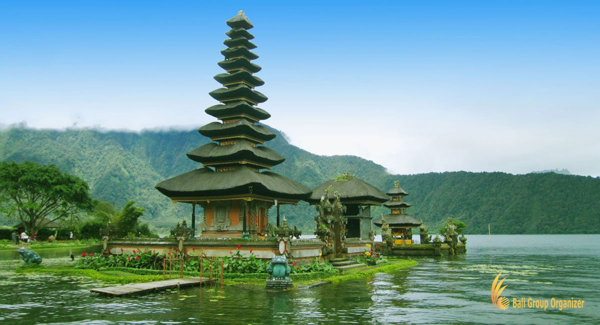 Bedugul Tour Bali Visit Temple Set on Lake
