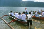 bali, traditional, boats, canoe, races, games
