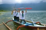 bali, traditional, boat, team, building