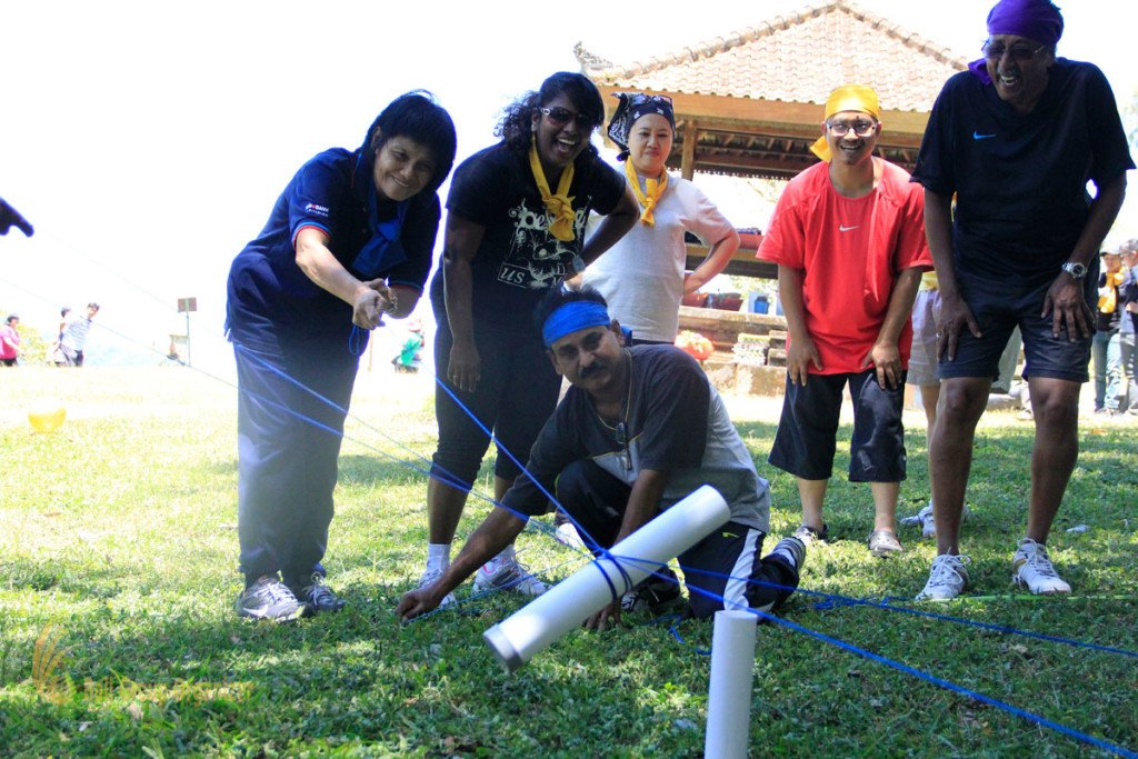 Dorairaj Malaysian, Toxic Waste Games, Bali, Team Building