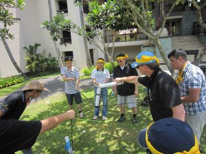 Emerson Climate Technologies Garden Team Building Treasure Hunt Phase Toxic Waste Game