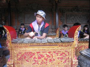 Fairview International School, Bali Education Trip, Balinese Culture, Balinese Traditional Instrumen Lesson, Bali