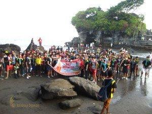 Fairview International School, Bali Education Trip, Tour, Tanah Lot, Tanah Lot Beach, Tabanan, Group Photo, Bali