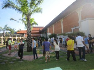 Faronics Corperation, Garden Team Building, Ice Breaking Session, Team Building, Fun Games, Education Games, Group Event, Bali