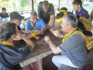Faronics Corperation, Garden Team Building, Team Building, Fun Games, Education Games, Solving Problem Games, Wooden Puzzle Games, Group Event, Bali