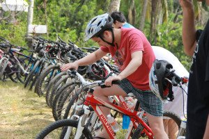 Fondaco International Bali Cycling Treasure Hunt Team Building on Test Riding Session