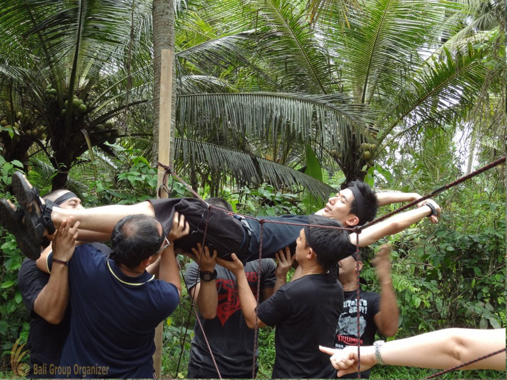 Fortinet, Salome Games, Bali, Garden Team Building