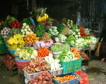 bali, fruit, vegetable, market, bedugul