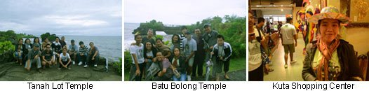 Tanah Lot Tour adventure activities