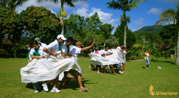 Bali Garden Team Building – Fun Games
