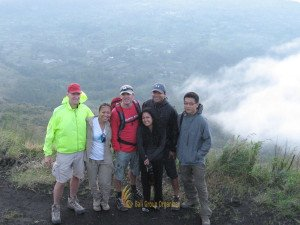 Global Village Trips Batur Mount Hiking Smile