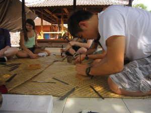 German Swiss International School, Hongkong, Bali Education Trip, Balinese Culture Lesson, Wood Curving