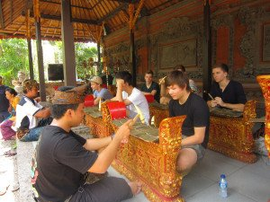 German Swiss International School, Hongkong, Bali Education Trip, Balinese Culture Lesson, Gamelan Session