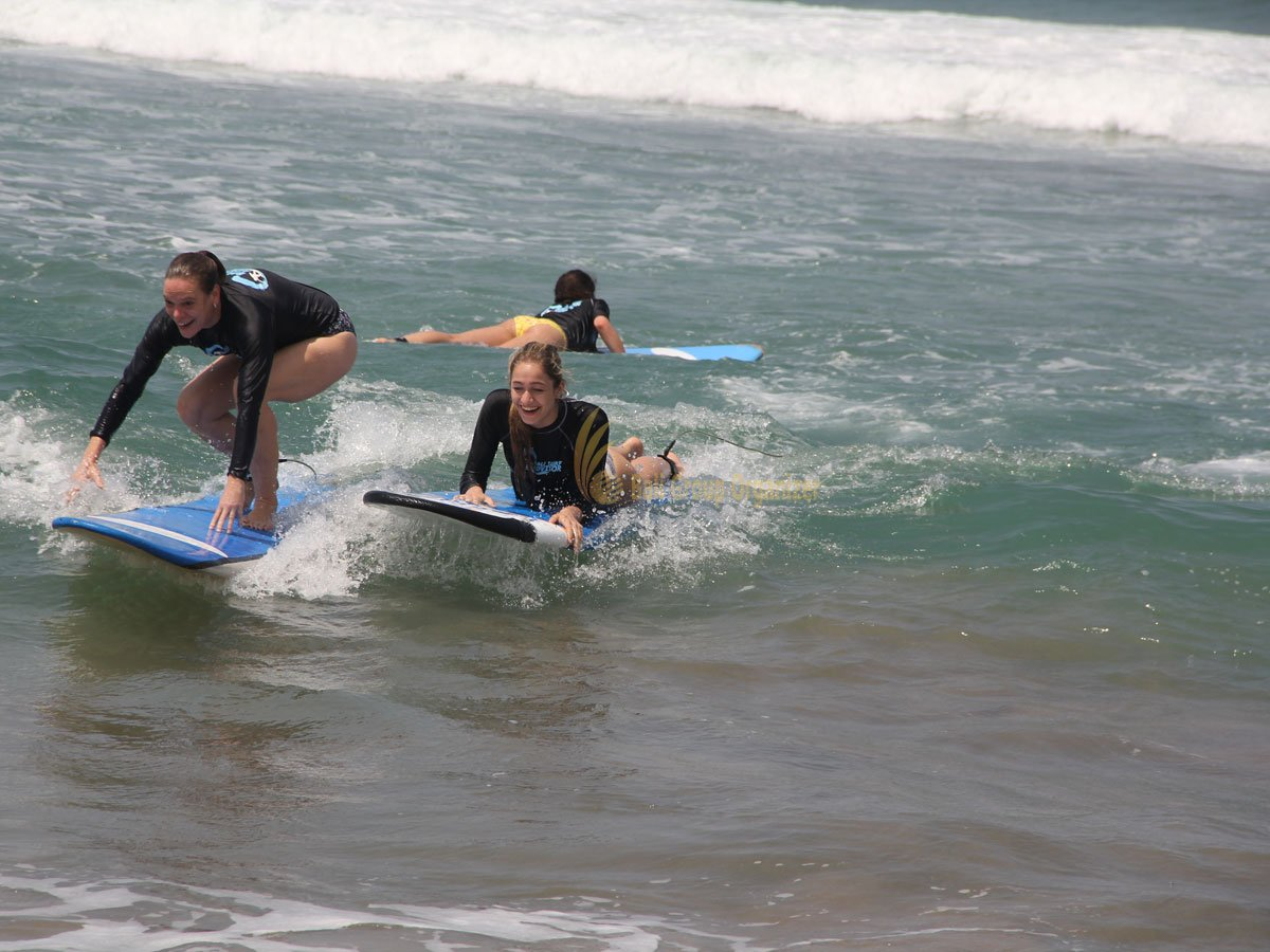 German Swiss International School, Surf Lesson, Kuta Beach, Bali