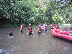 German Swiss International School, Bali Education Trip, White Water Rafting Adventures