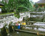 gua, gajah, bali, holy, shower
