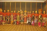 Linde Indonesia, Balinese Costume, Dinner