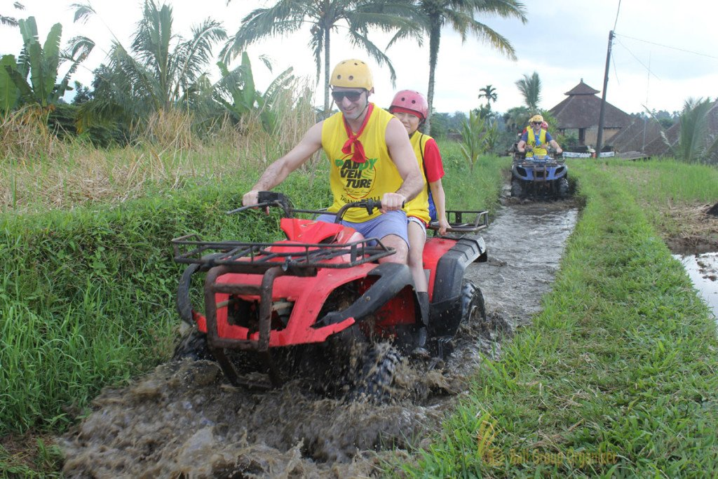 Medtronic, Treasure Hunt, ATV Riding, Team Building, Muddy Route