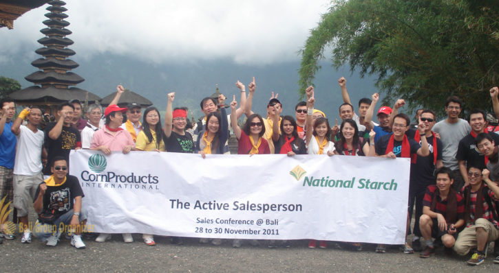 PT. National Starch – Bali Fun Rally Team Building
