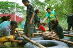 bali, raft, building, team, raft building, team building, games, raft construction