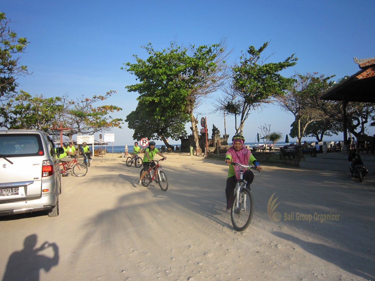 Rajawali Swiber Cakrawala, Bali, Nusa Dua, Cycling Treasure Hunt, Team Building