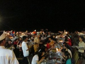 Stamford International School Bandung, Sunset Dinner, Seafood Dinner, Jimbaran, Bali Education Trip, Group Event, Student