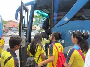 Stamford International School Bandung, Bali Education Trip, Group Event, Student, Arrival Gate, Bus, Bali