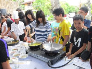 Stamford International School Bandung, Bali Education Trip, Group Event, Cooking Class, Student, Bali