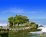 tanah, lot, temple, bali, rock