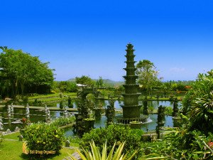 Tirta, gangga, tower, water, fountain