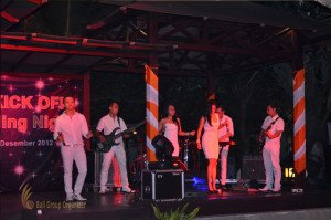 TNT Express Indonesia, TNT, Bali Farewell Dinner, Entertainment, Live Music, Night Event, Group Event, Event, 2013, Bali