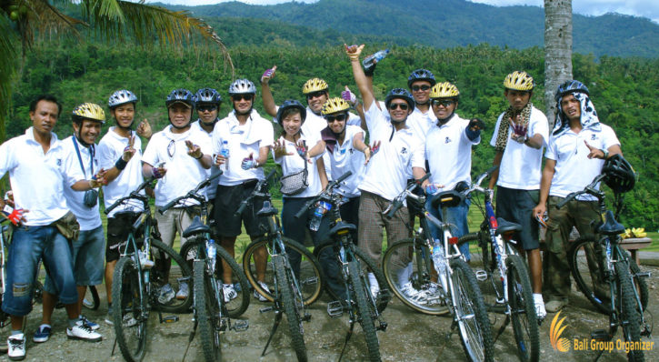 Bali Cycling Treasure Hunt Team Building