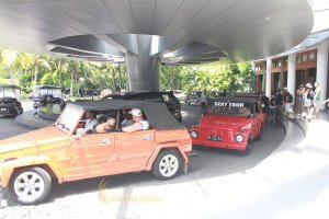 Visa Global Logistics, VW Village Safari Treasure Hunt, Treasure Hunt Games, Team Building, Starting Point, Bali