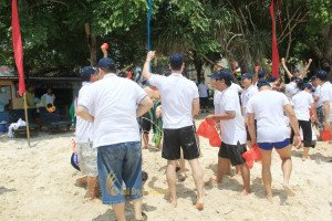Voith Paper Indonesia, Nusa Lembongan, Team Building, Sea Cruise