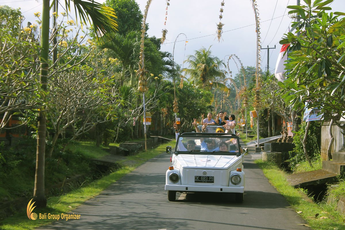 treasure hunt bali, vw, village, safari, exploration