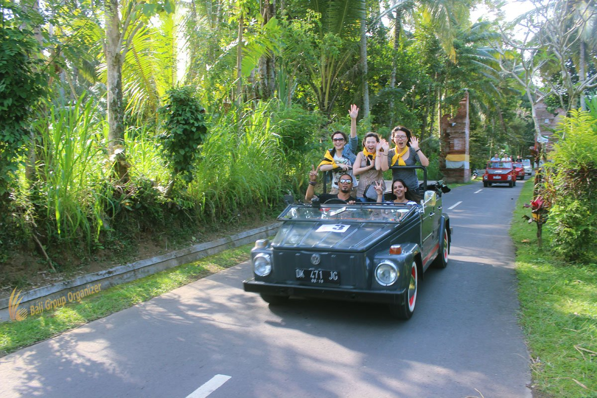 treasure hunt bali, vw, safari, village, fun, trips