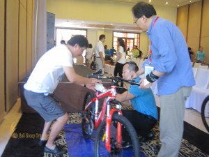 fireeye, singapore, bali, csr, corporate, social, responsibility, charity, orphanage, bali csr, bali charity, bike reconstruction